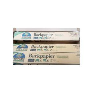 Kompostowalny papier do pieczenie w rolce 10m If you care