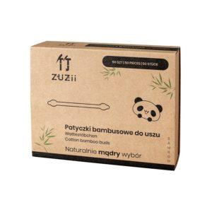 Patyczki do czyszczenia uszu bambusowe 50 szt