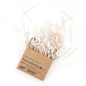 Patyczki do czyszczenia uszu bambusowe z bawelna organiczna biodegradowalne 100 szt