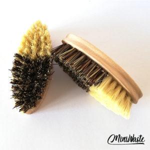 Miniwaste drewniana szczotka do czyszczenia warzyw