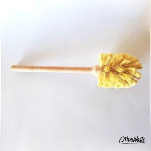 Miniwaste drewniana szczotka do WC