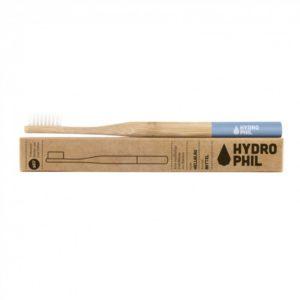 Szczoteczka do zębów z bambusa Hydrophil | Niebieska