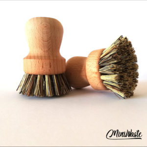 Miniwaste drewniana szczotka do garnków