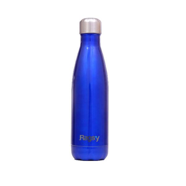 Stalowa butelka na wodę Ragsy, ocean blue 500 ml