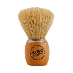 Pędzel do golenia z naturalnym włosiem Aleppo Soap CO.