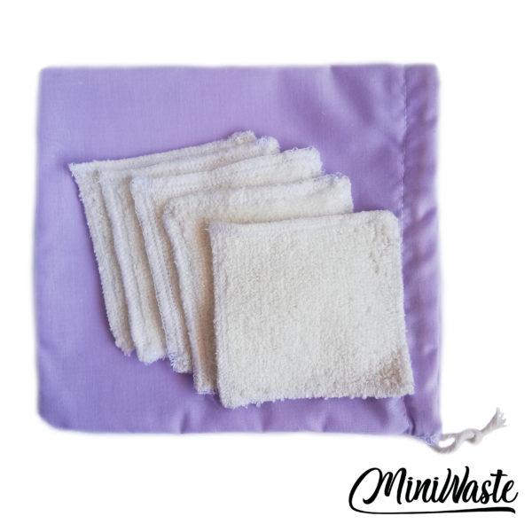 Wielorazowy płatek kosmetyczny Miniwaste 1szt.