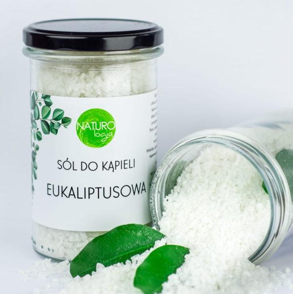 Sól do kąpieli Naturologia | Eukaliptusowa 600g